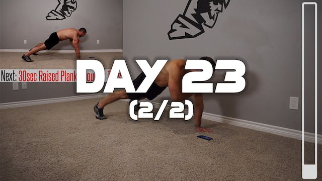 Day 23 (2/2): Full Core Workout