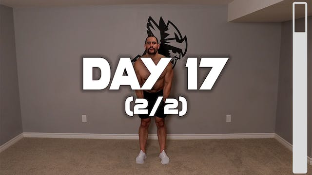 Day 17 (2/2): Full Body Workout #3