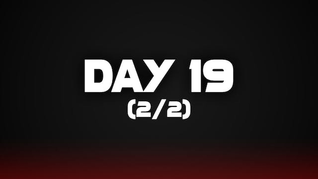 Day 19 (2/2)