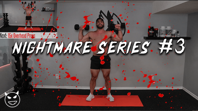 11min. GRUESOME Full Body Home Workout (NIGHTMARE SERIES PT.3!!)