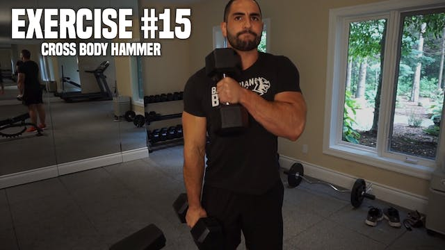 Cross-Body Hammer Curls