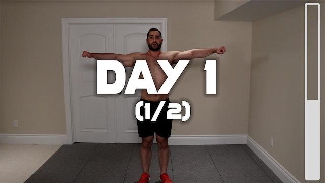 Day 1 (1/2): Warm-Up Routine