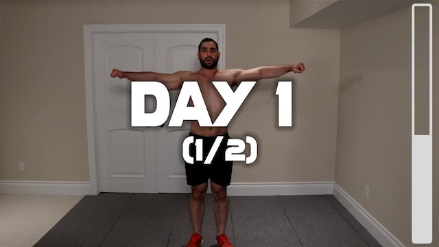 Day 1 (1/2): Warm-Up Routine