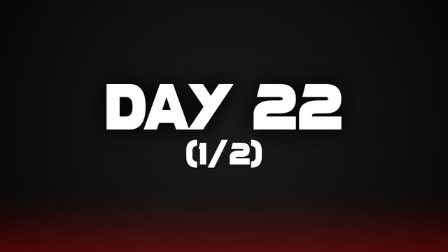 Day 22 (1/2)