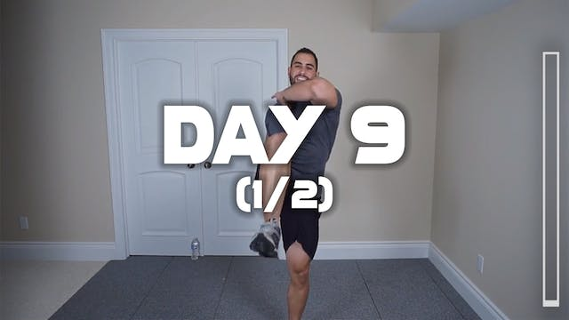 Day 9 (1/2): Fat Burning Workout