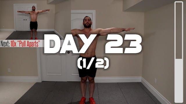 Day 23 (1/2): Warm-up Routine