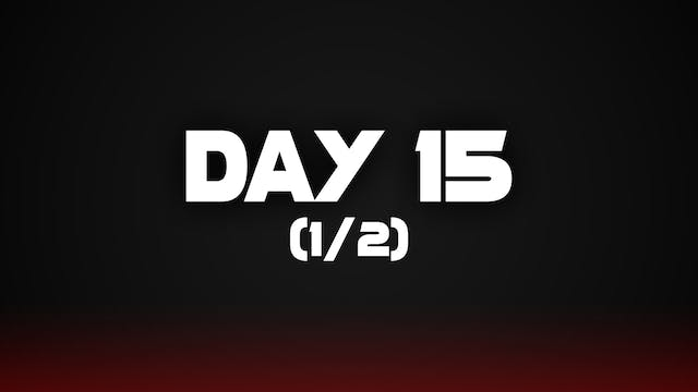 Day 15 (1/2)