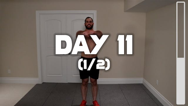 Day 11 (1/2): Warm-up Routine
