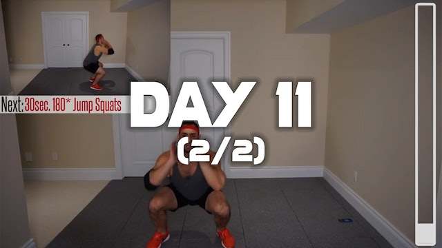 Day 11 (2/2): Fat Burning Workout