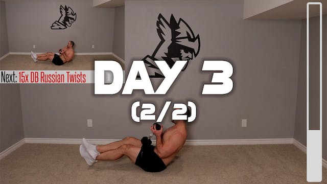 Day 3 (2/2): Full Body Workout #2