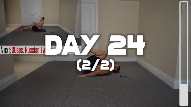Day 24 (2/2): Lower Abdominal & Obliq...