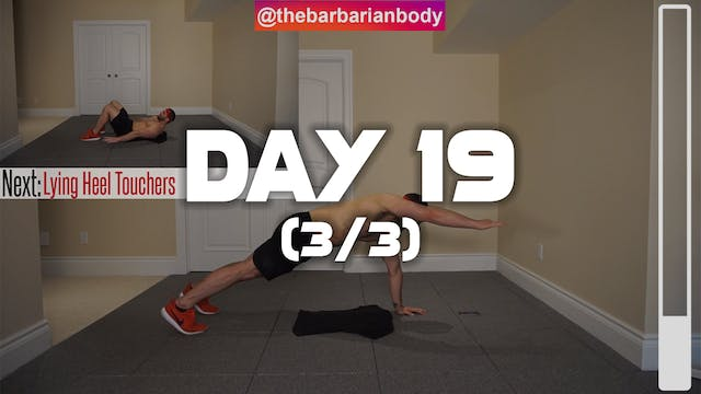 Day 19 (3/3): Chest, Abdominal & Bice...