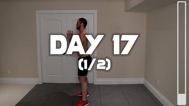 Day 17 (1/2): Warm-up Routine