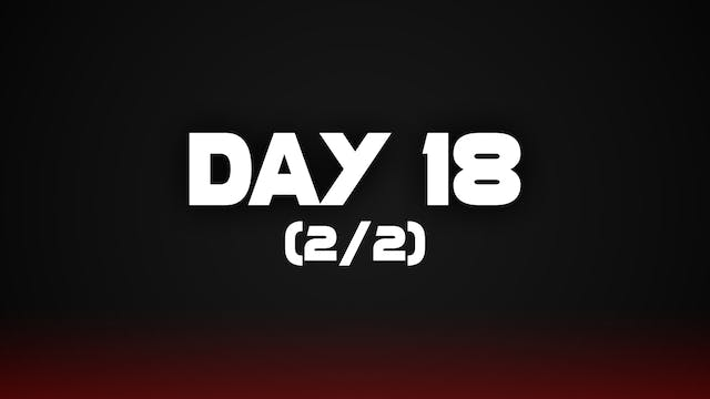 Day 18 (2/2)