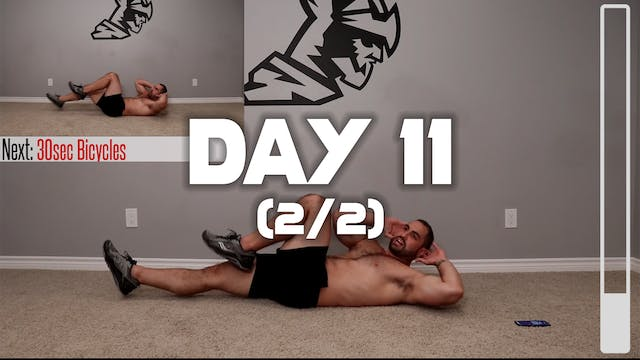 Day 11 (2/2): Full Core Workout