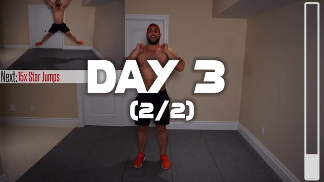 Day 3 (2/2): Six Pack Abs Workout