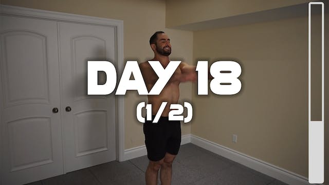 Day 18 (1/2): Warm-up Routine