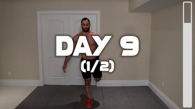 Day 9 (1/2): Warm-up Routine