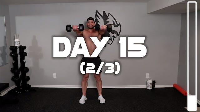 Day 15 (2/3): Shoulder Workout