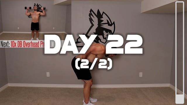 Day 22 (2/2): Full Body Workout #1