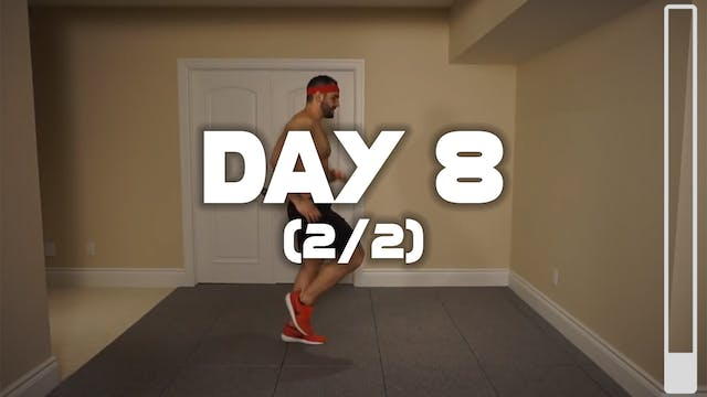 Day 8 (2/2): Fat Burning Workout