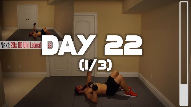 Day 22 (1/3): Bodyweight Workout