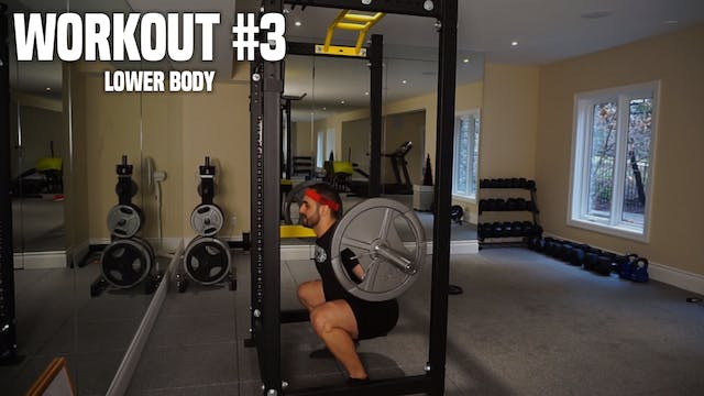 Workout #3: Lower Body