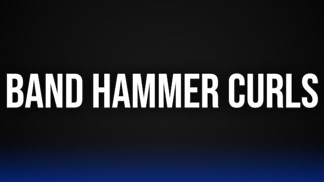Band Hammer Curls