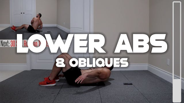 Lower Abs & Obliques Workout