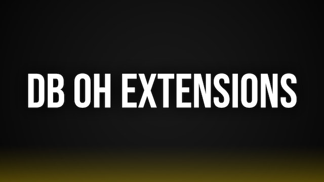 DB OH Extensions