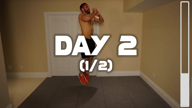 Day 2 (1/2): Cardio Fat Burning Workout