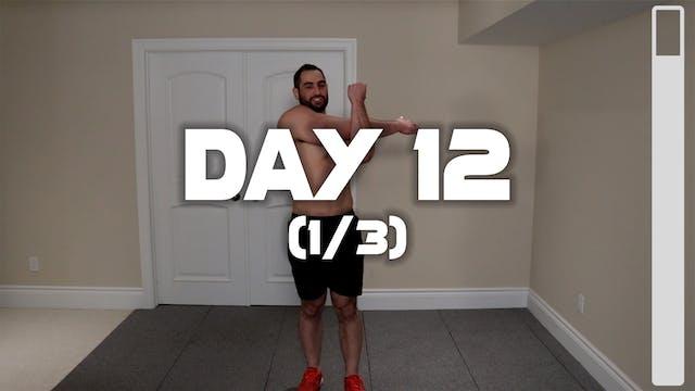 Day 12 (1/3): Warm-up Routine