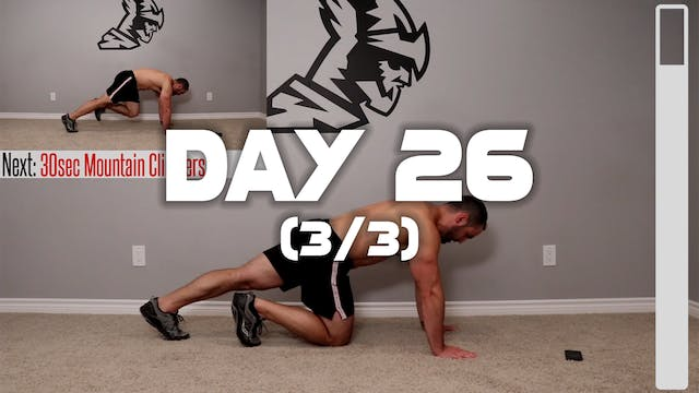 Day 26 (3/3): Six Pack Abs Workout