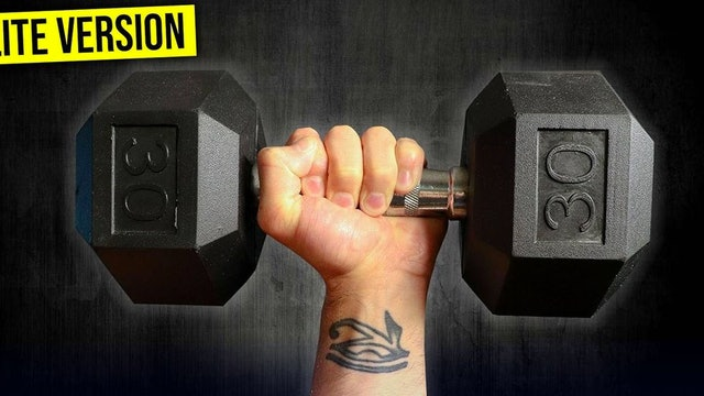 Dumbbell LITE Program (WATCH FIRST)