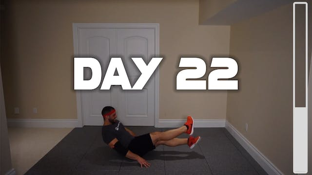 Day 22: Bodyweight Workout