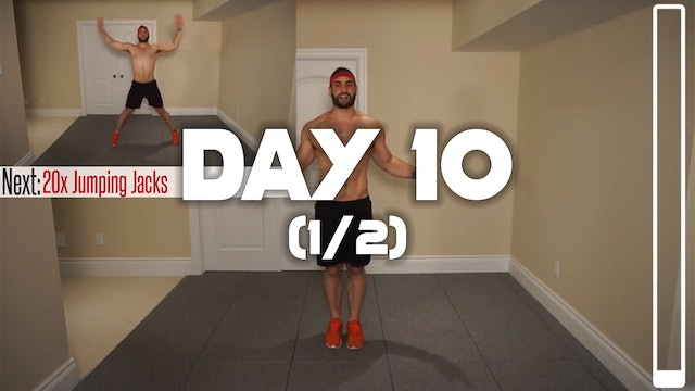 Day 10 (1/2): Fat Burning Workout