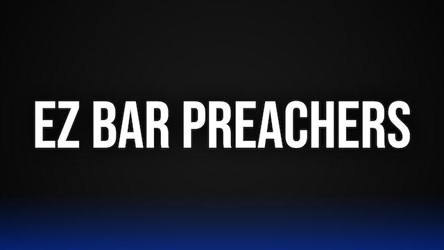 EZ Bar Preacher Curls