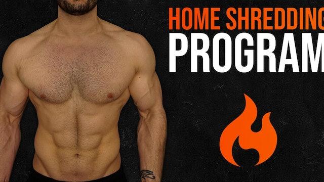 Home Shredding Program (WATCH FIRST)