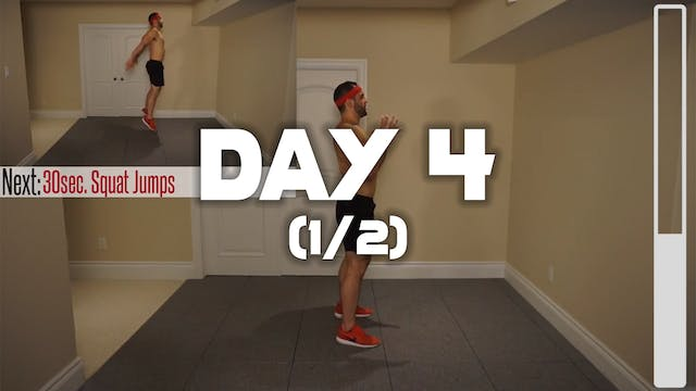 Day 4 (1/2): Cardio Fat Burning Workout