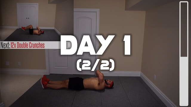 Day 1 (2/2): Fat Melting Six Pack Workout