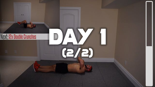 Day 1 (2/2): Fat Melting Six Pack Wor...