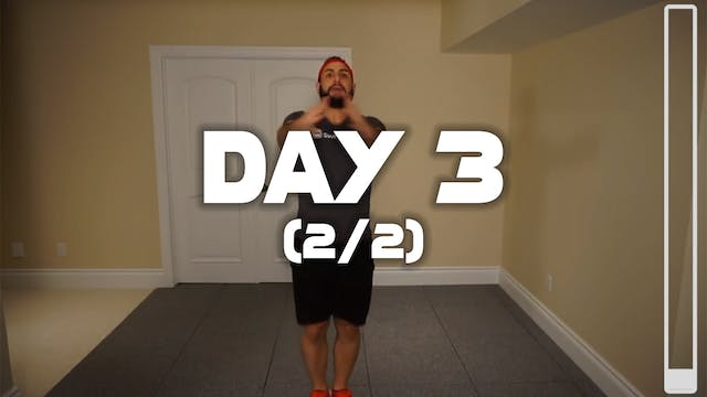 Day 3 (2/2): Fast Strain Workout