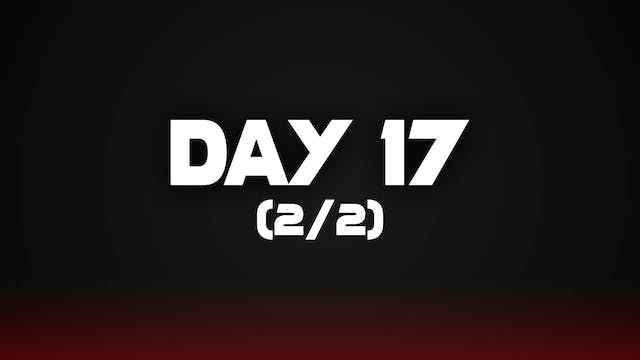 Day 17 (2/2)