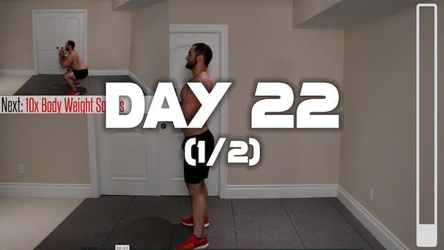 Day 22 (1/2): Warm-up Routine