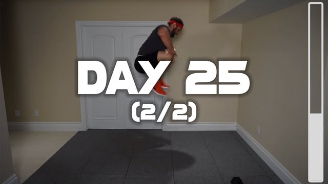 Day 25 (2/2): Lower Body Workout
