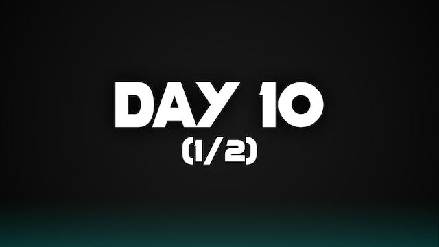 Day 10 (1/2)