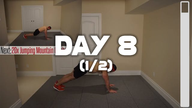 Day 8 (1/2): Fat Burning Workout