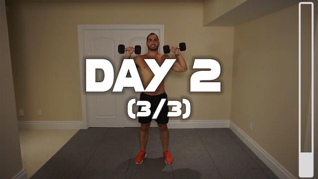 Day 2 (3/3): Shoulder & Traps Workout