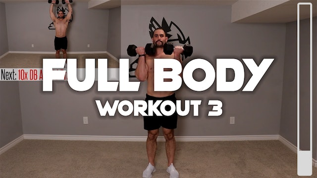 Full Body Workout #3