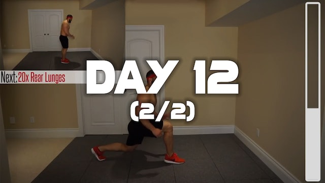 Day 12 (2/2): Lower Belly Fat Melting Workout